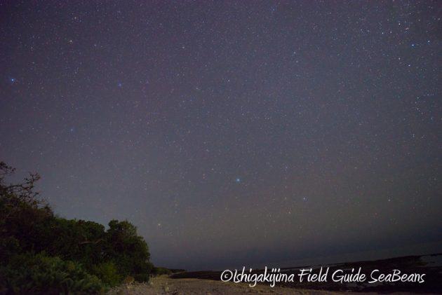 8月4日石垣島の星空3